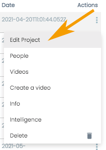How to Edit a Pirsonal Player Project