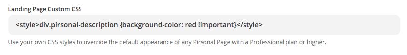 Custom CSS in Zapier