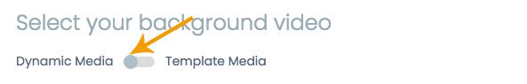 Dynamic Media Toggle